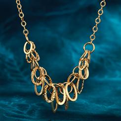 14K Gold Anello Necklace