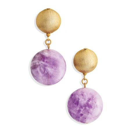 The Wilde Amethyst Earrings