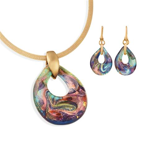 Murano Magia Necklace & Earrings