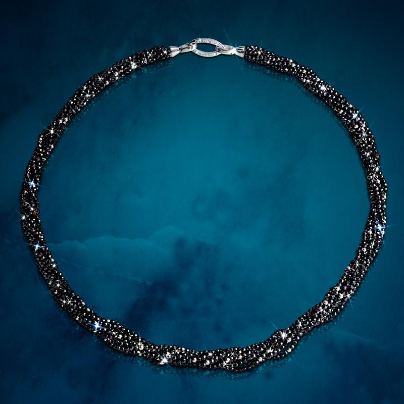 Black Spinel Secret Necklace