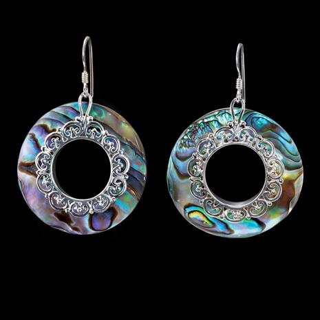 Abalone Kaleidoscope Earrings