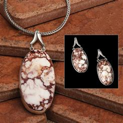 Tucson Wild Horse Collection (Pendant, Chain & Earrings)