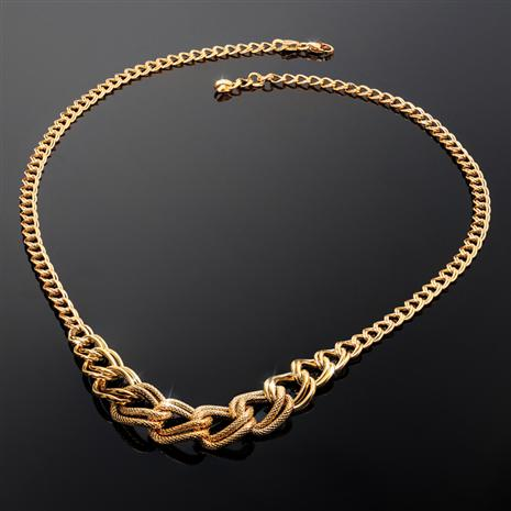 Italian Gold-Finished Sterling Silver Ultimate Indulgence Necklace