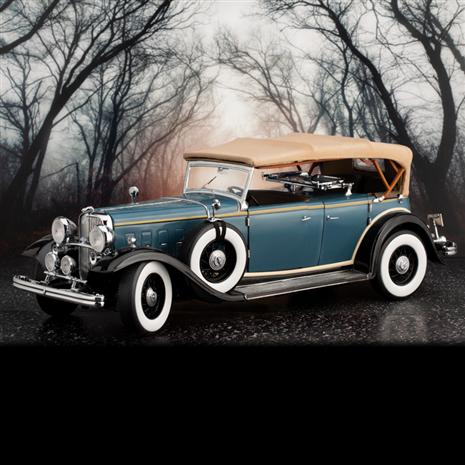 1932 Ford Lincoln KB Top Up (Blue)