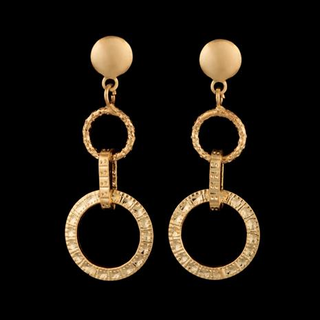 14K Italian Gold Cerchio Earrings