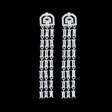 Art Deco Fringe Earrings