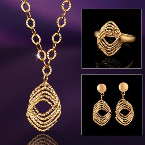 14K Italian Gold Amore Eterno Collection