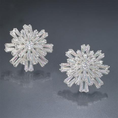 Starry Night Snowflake Earrings