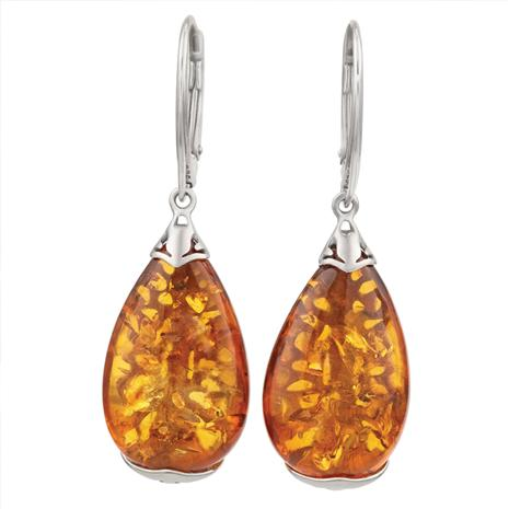 Amber Harvest Earrings