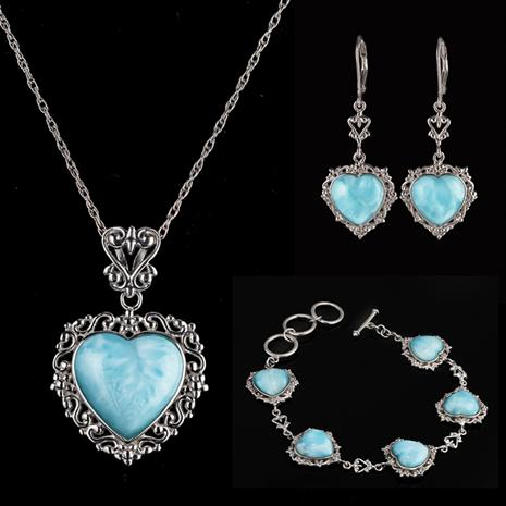 Heart of the Ocean Larimar Collection