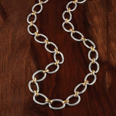 Due Toni Sterling Silver Necklace