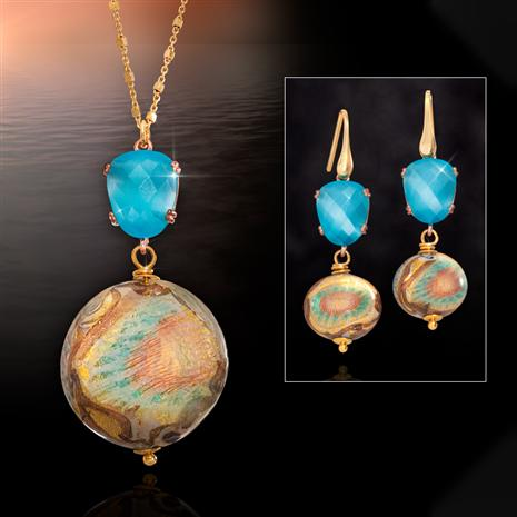Tramonto Brillante Murano Collection