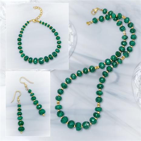 Emerald Green Beryl Collection