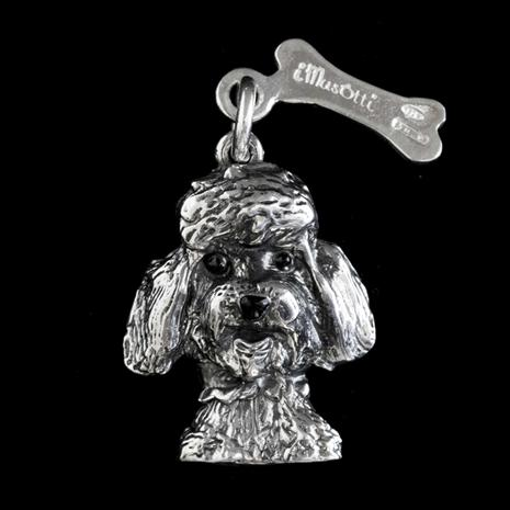 Best Friends Poodle Necklace