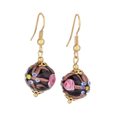 Murano Fiorato Nuziale Earrings