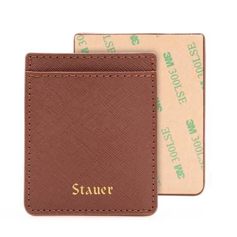 Genuine Leather Mobile Phone Card Holder