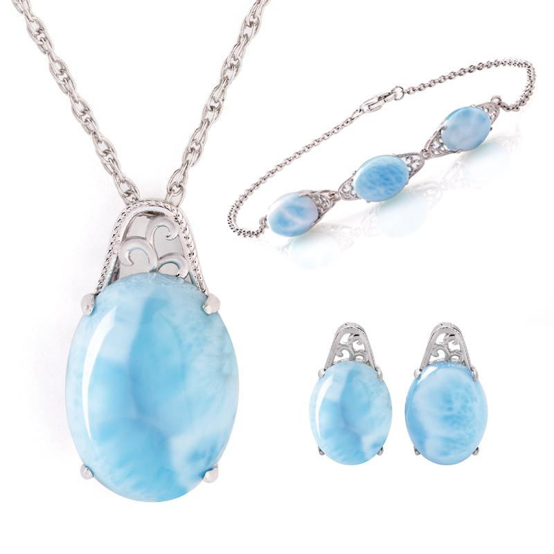 Sea of Love Larimar Collection