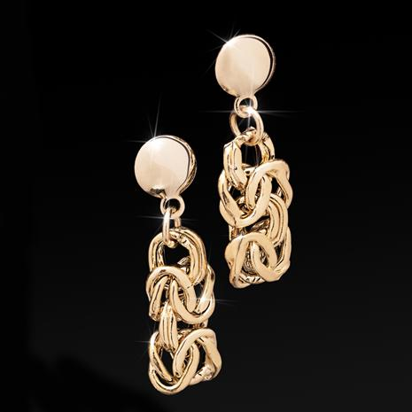 Lustro Earrings in 14K Italian Gold