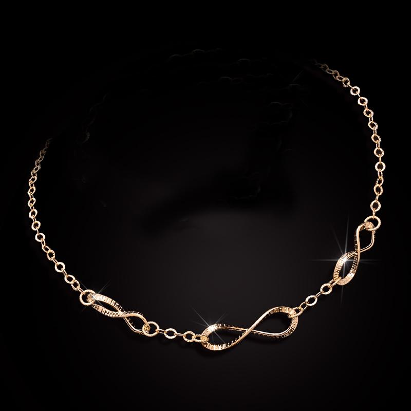 14K Italian Gold Amore Eterno Necklace