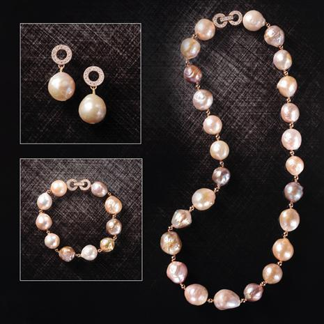 Baroque Pearl Opulence Collection