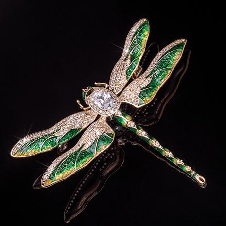 Dragonfly Treasure Brooch