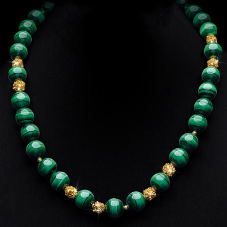 Malachite Empress Necklace
