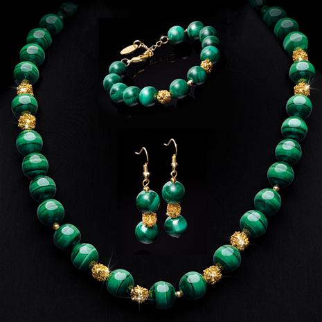 Malachite Empress Collection