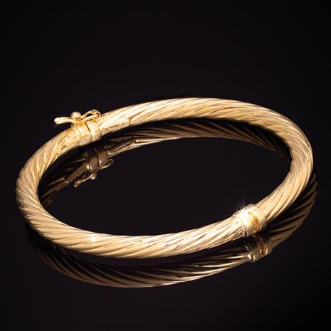 Cerchi Scanalati Bangle