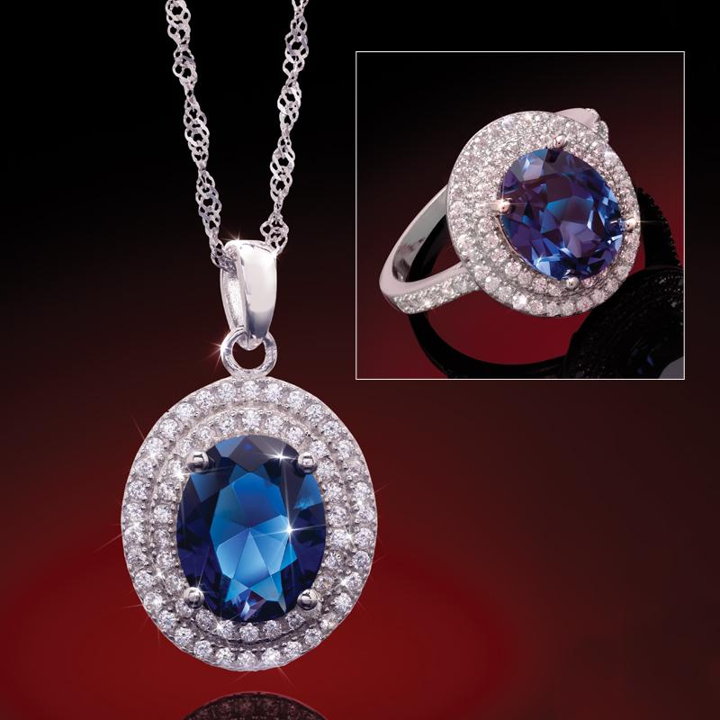 Windsor Pendant and Ring