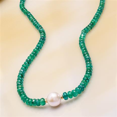 Emerald Radiance Necklace