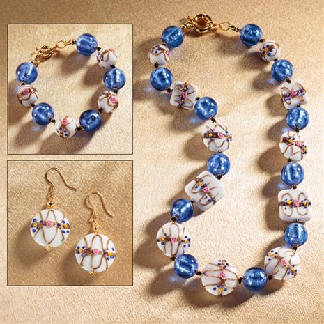 Celebrazione di Murano Necklace, Bracelet & Earrings