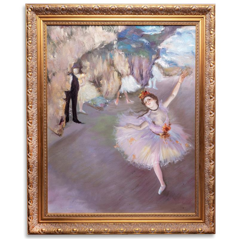 The Star (Dancer on Stage) by Edgar Degas