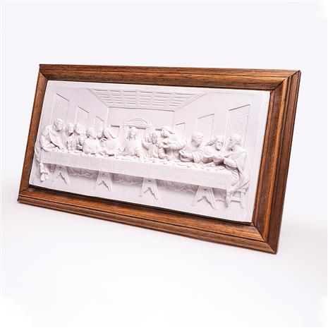 Last Supper Plaque by Leonardo Da Vinci