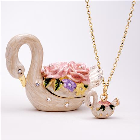 Enchanted Swan Egg & Necklace