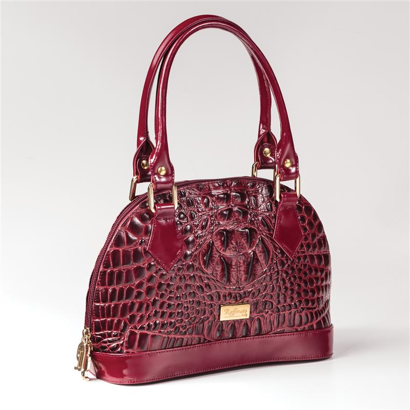 Esotica Italian Leather Medium Handbag