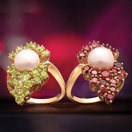 Vineyard Pearl Rings