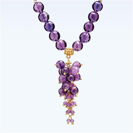 Amethyst Beaujolais Necklace