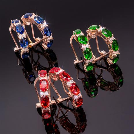 Stress-Free Glamour Earrings (set of 3)