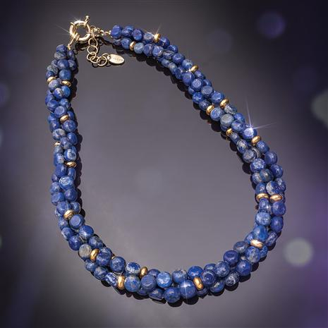 Chronicle Lapis Necklace