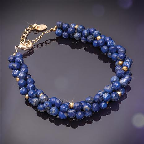 Chronicle Lapis Bracelet