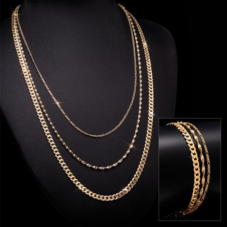 Stratificato Chain Necklace & Bracelet