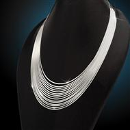 Sterling Silver Cascata Necklace