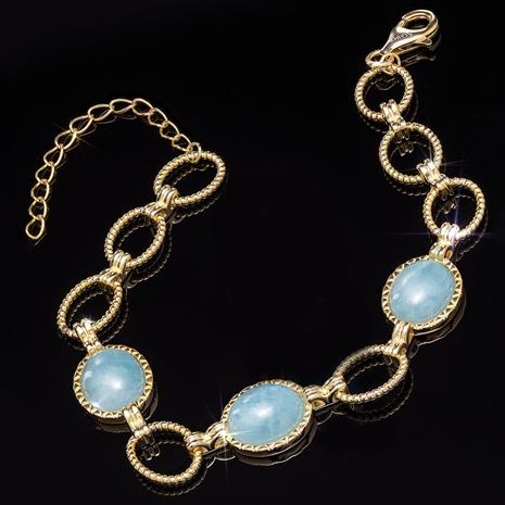 Aquamarine Legendary Love Bracelet