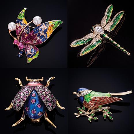 Wonderful Wings Brooches (pick 2)