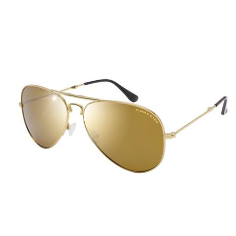 Eagle Eyes Foldable Aviator (Gold Mirror)