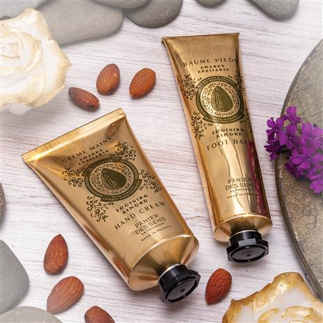 Soothing Almond Hand Cream & Almond Foot Balm (2.6 fl. ozs. each)