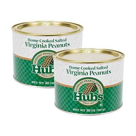 Salted Peanuts (2-20 oz. tins)