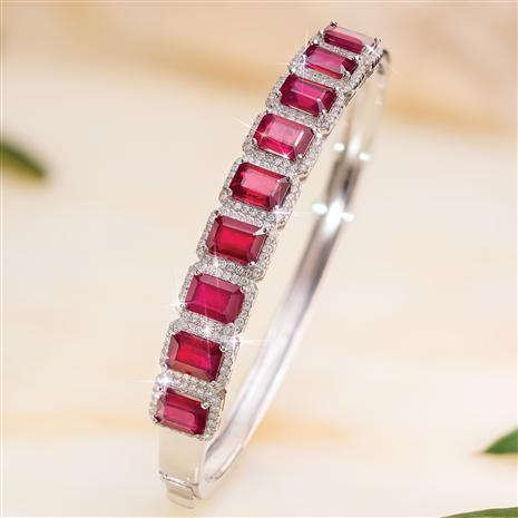 Ruby Red Alert Bangle