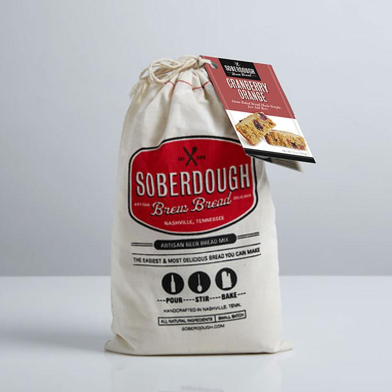 Soberdough Artisan Beer Bread Mix (Cranberry Orange)