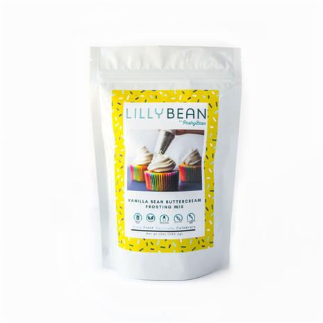 LillyBean Buttercream Frosting Mix (Vanilla Bean)